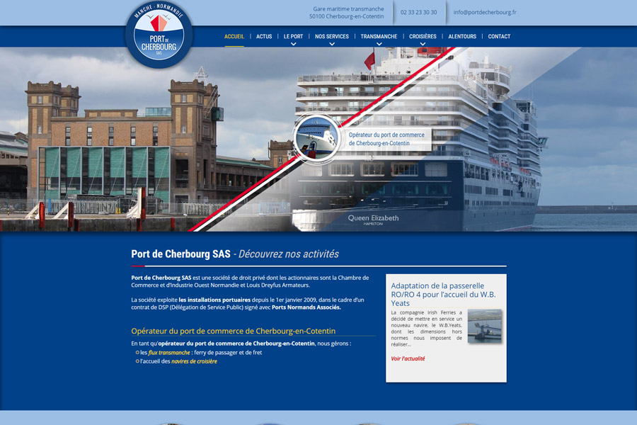Port de Cherbourg SAS