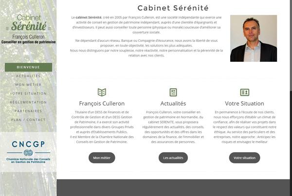 Cabinet Sérénité - François Culleron