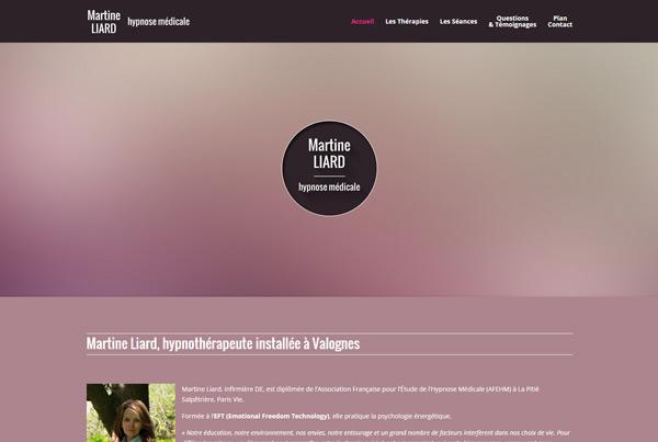 Martine Liard Hypnothérapeute